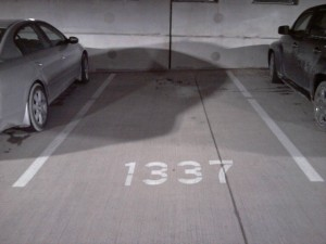 1337 parking space